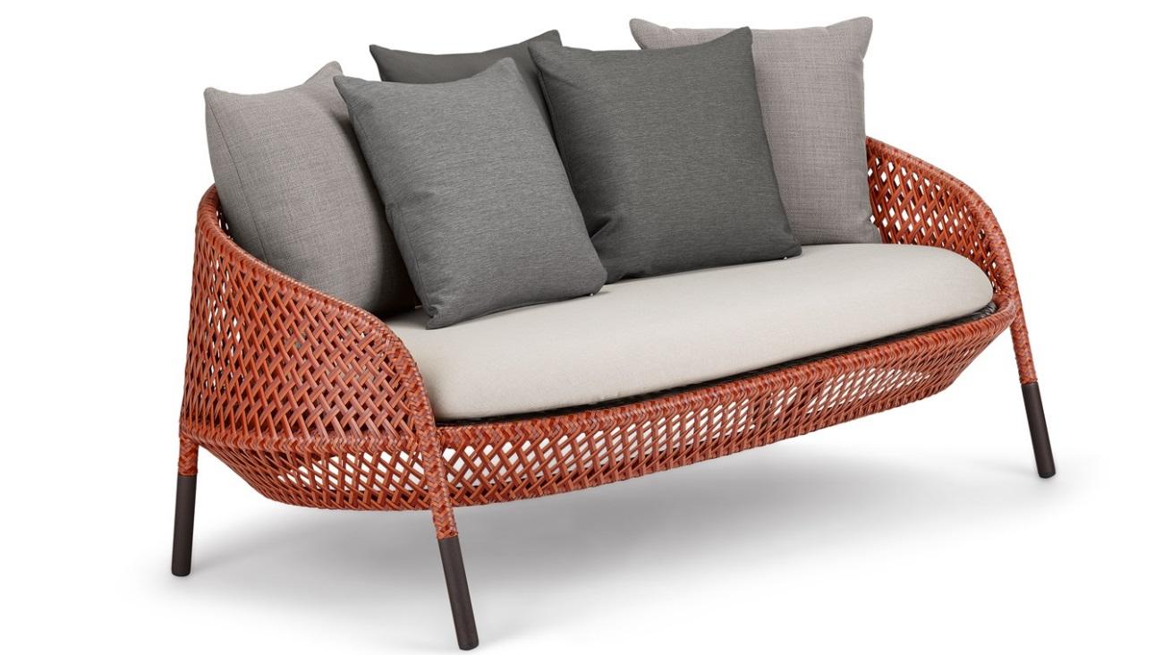 DEDON AHNDA 2er-Sofa elemental Sonnenparadies Ferber