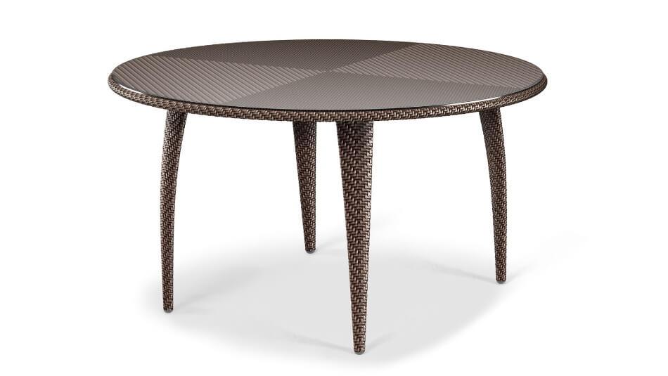 DEDON_Tango_Esstisch_130cm_bronze