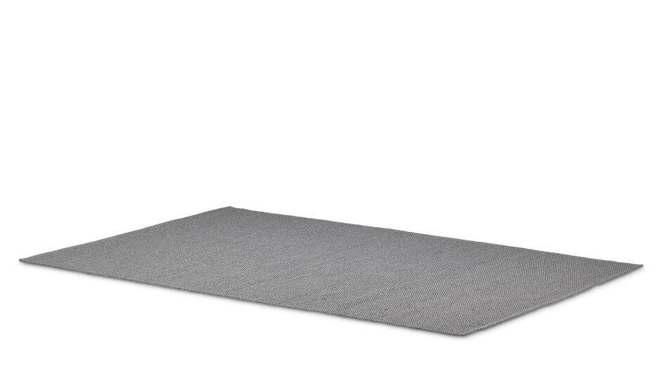 DEDON Vid Teppich SOLID 200x300 light gray
