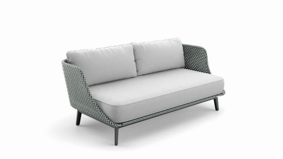 DEDON Mbarq 3er-Sofa baltic