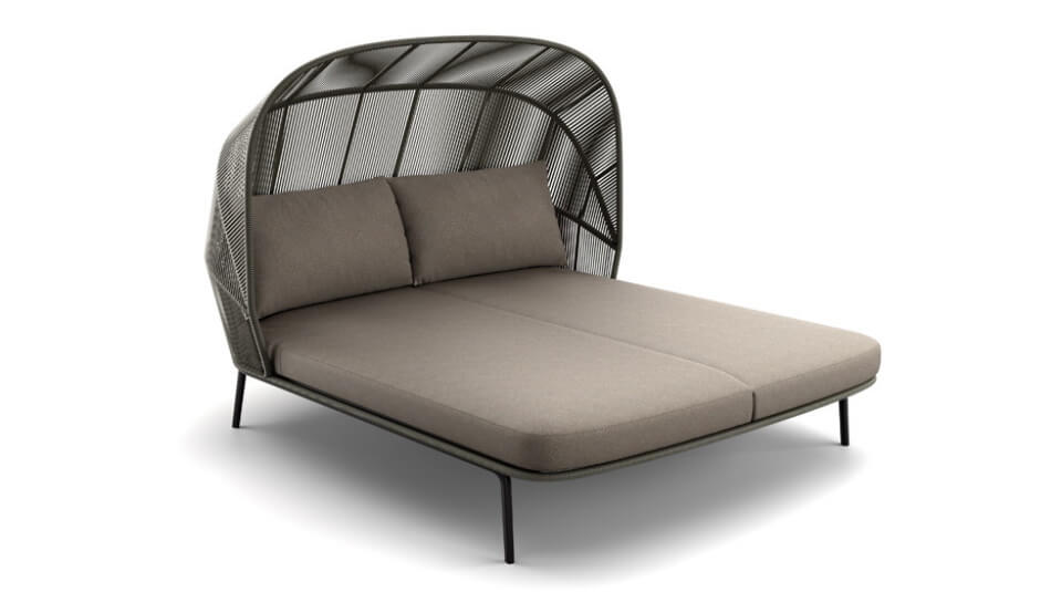 DEDON Rilly Cocoon Doppel-Daybed taupe touch