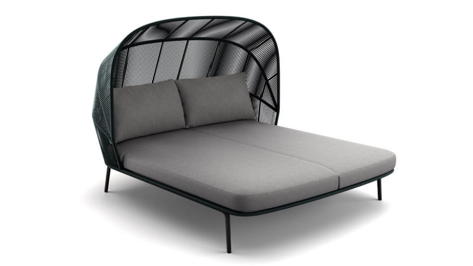DEDON Rilly Cocoon Doppel-Daybed teal touch