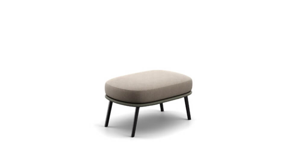 DEDON Rilly Hocker taupe touch
