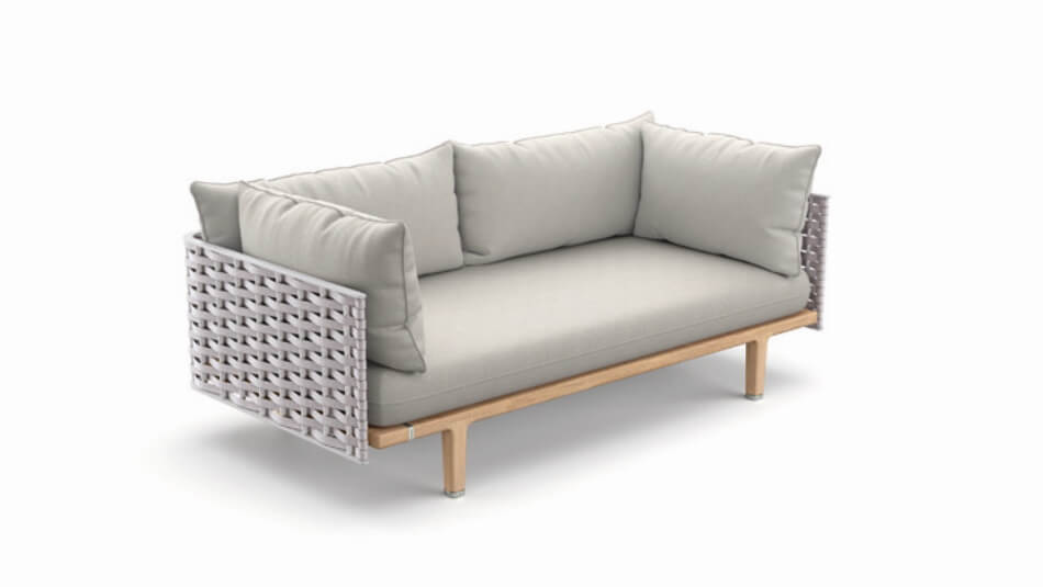 DEDON Sealine 2er-Sofa pristine