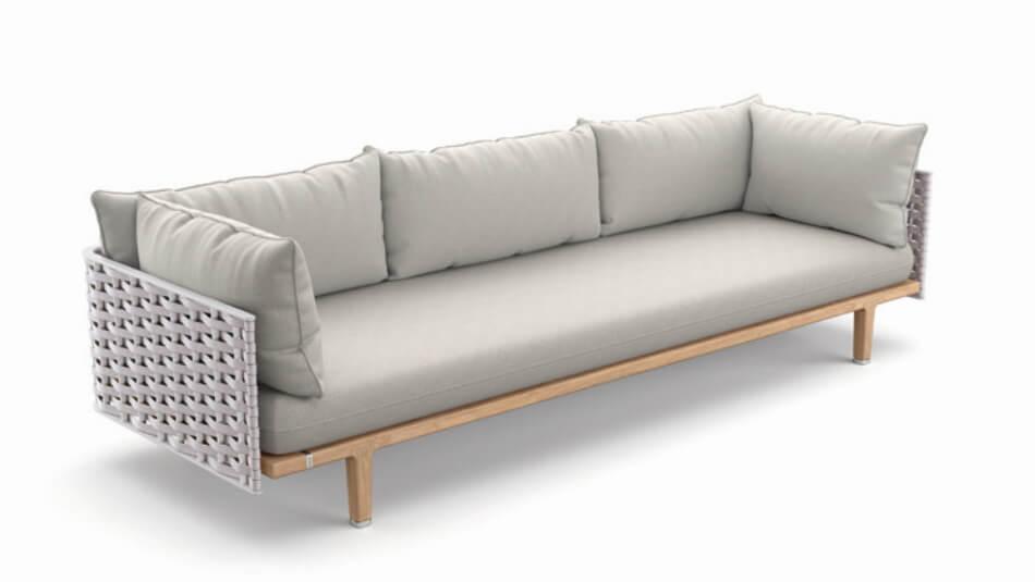 DEDON Sealine 3er-Sofa pristine