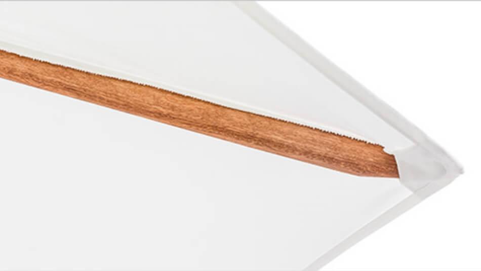 TUUCI Bay Master M1 Authentic Hardwood Schirmanatomie 03
