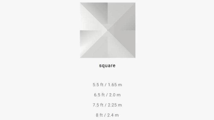 TUUCI Bay Master M1 Classic quadratisch