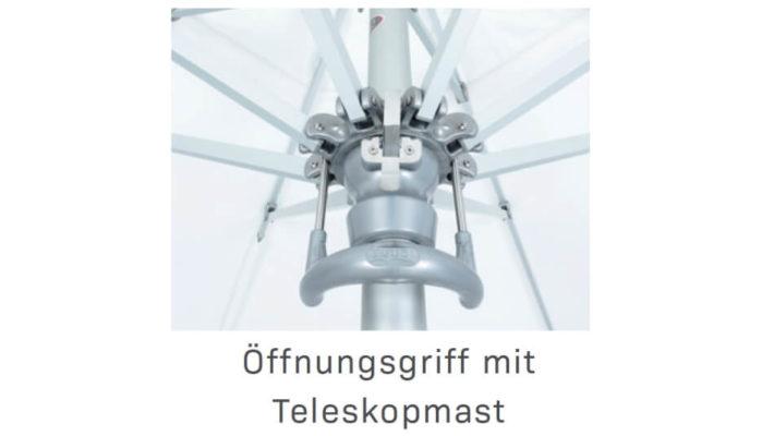 TUUCI Bay Master MAX Öffnungsmast mit Teleskopmast